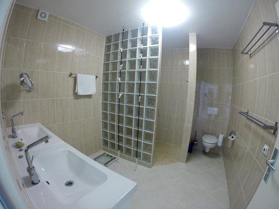 Bad WC begehbare Dusche Casa Calma Fuerte