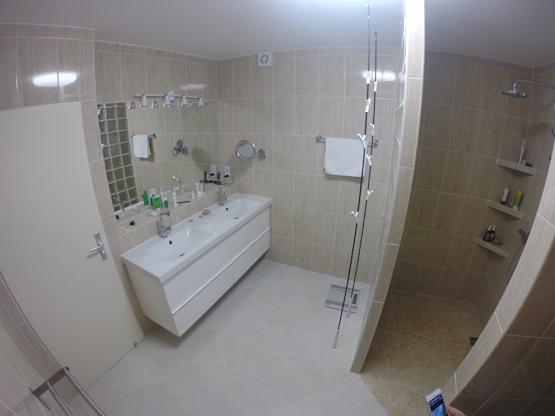 Bad WC begehbare Dusche Casa Calma Fuerteventura