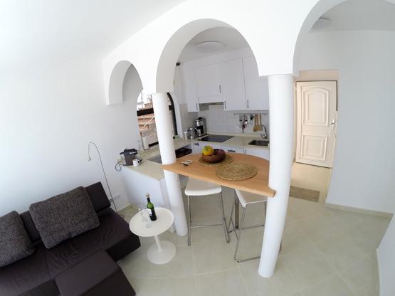 Offene Küche Casa Calma Fuerteventura