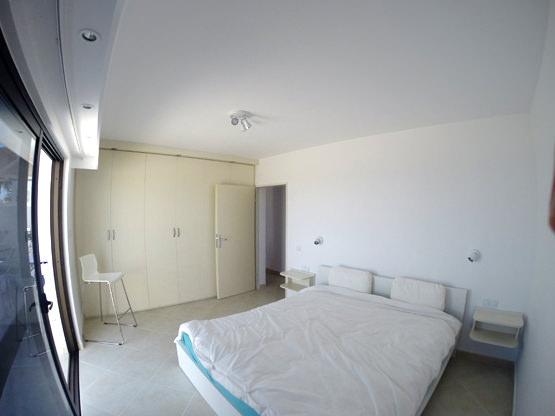 Schlafzimmer Doppelbett Ferienappartement Fuerte