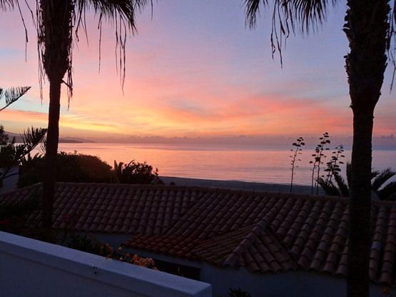 Sonnenaufgang Meerblick Ferienappartement Casa Calma