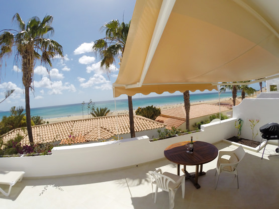 Meerblick Sonnenterrasse Ferienappartement Calma