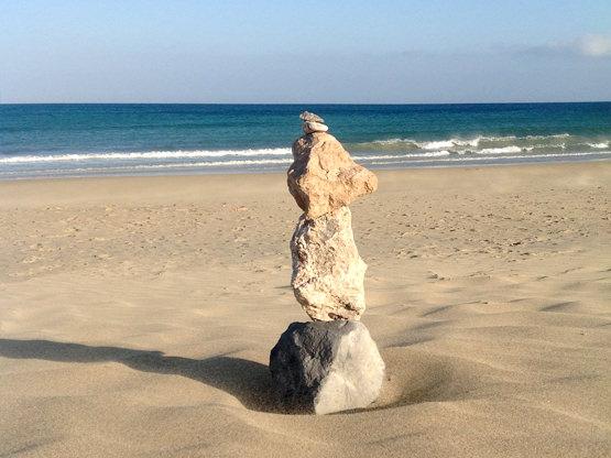 Strand Meer Costa Calma Fuerteventura