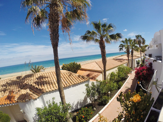 Terrasse Meerblick Ferienwohnung Fuerteventura